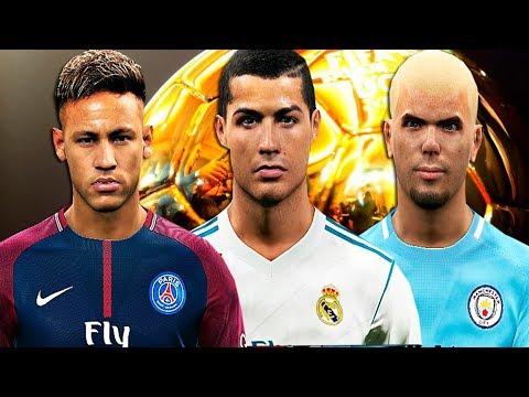 Ronaldo Neymar Y Bradic Quien Ganará El Balón De Oro