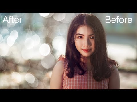 How To Add Fake Bokeh In Photoshop