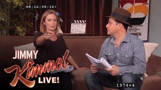 Jimmy Kimmel Auditions for Every Matt Damon Role