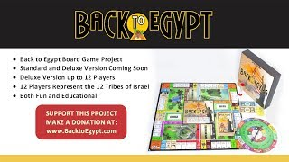 Introducing! The Back to Egypt Board Game Project!