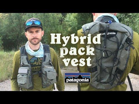 Chaleco-mochila De Pesca Hybrid Pack Vest De Patagonia   Productos The FlyCenter.