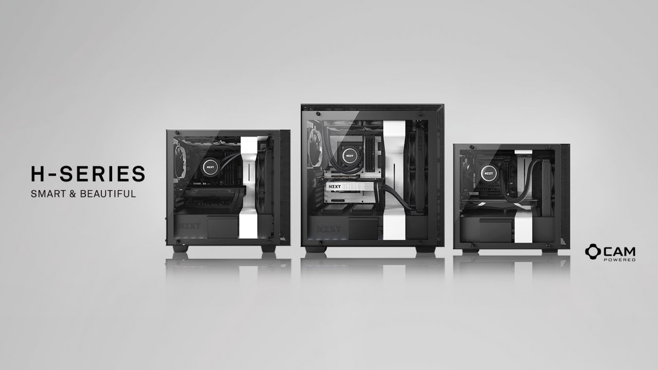 H700i - Premium ATX Mid-Tower Case with CAM-powered Smart Features