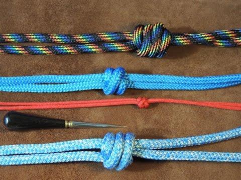 Two Strand Matthew Walker Knot, Single, Double, Treble, Easy to Tie Tutorial 🛠