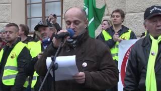 Zásadní proslov mluvčího IvČRN Martina Konvičky před Pražským hradem
