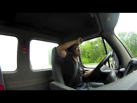 asian truck DRIVER!