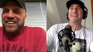 Randy talking about the early days of the UFC and the 'human cockfighters'