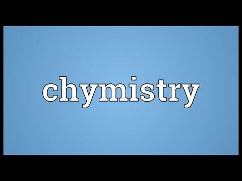 Header of chymistry