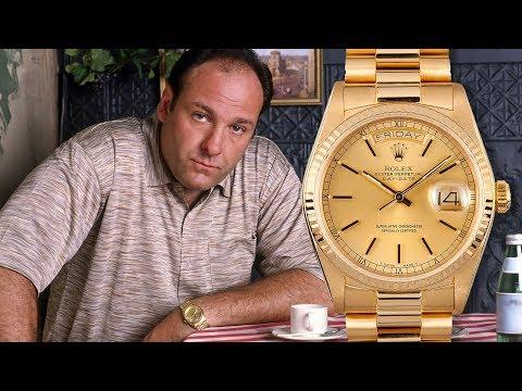 Welke Rolex Draagt Tony Soprano? - De horloges uit The Sopranos tv-serie
