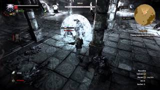 The Witcher 3 (Wiedźmin 3) - Walka w ruinach