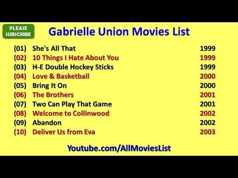 Gabrielle Union Movies List