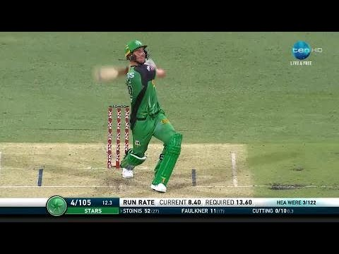 Best of BBL|07: Every Stoinis boundary