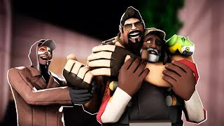 TF2 - Bearded Expense Gets FURIOUS On A Minecraft Tradeserver Part 2