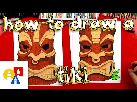How To Draw A Tiki