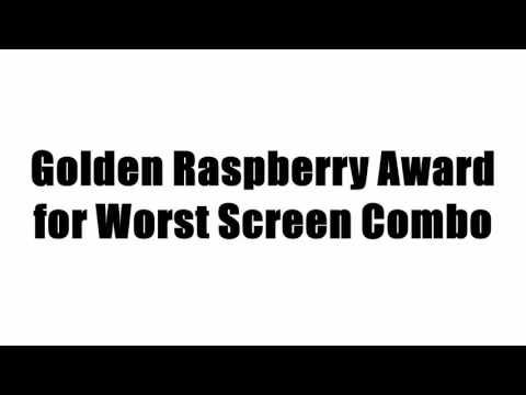 Golden Raspberry Award for Worst Screen Combo