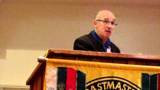 Joe Ring Chairman Of Westport Toastmasters