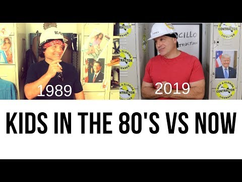KIDS in the 80's vs Now