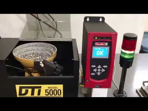 DTI Automatic Screw Feeder with Desoutter DC tool