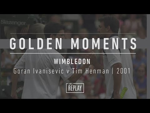 Wild card Goran Ivanisevic serves a record 212 aces during the Championships