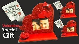 valentine love gift DIY | heart showpiece | valentine day gift ideas| Tuber Tip