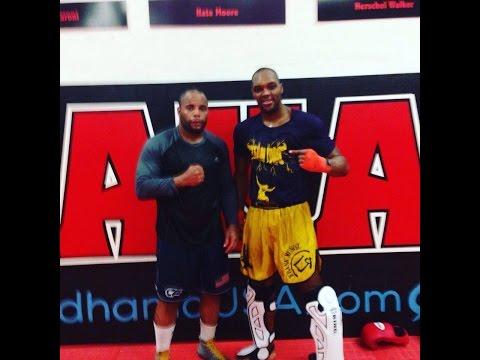 Frank Munoz and Daniel Cormier UFC