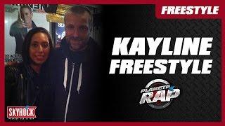 Kayline en freestyle dans le Planète Rap de DJ Kayz