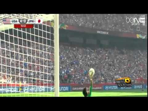 USA VS JAPAN  5:2 ALL GOALS FINAL 2015