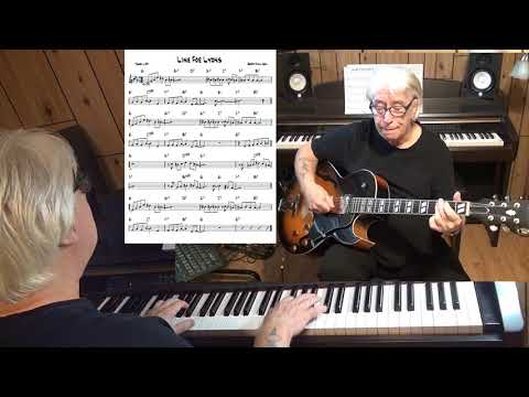 Line For Lyons - Jazz guitar & piano cover ( Gerry Mulligan )