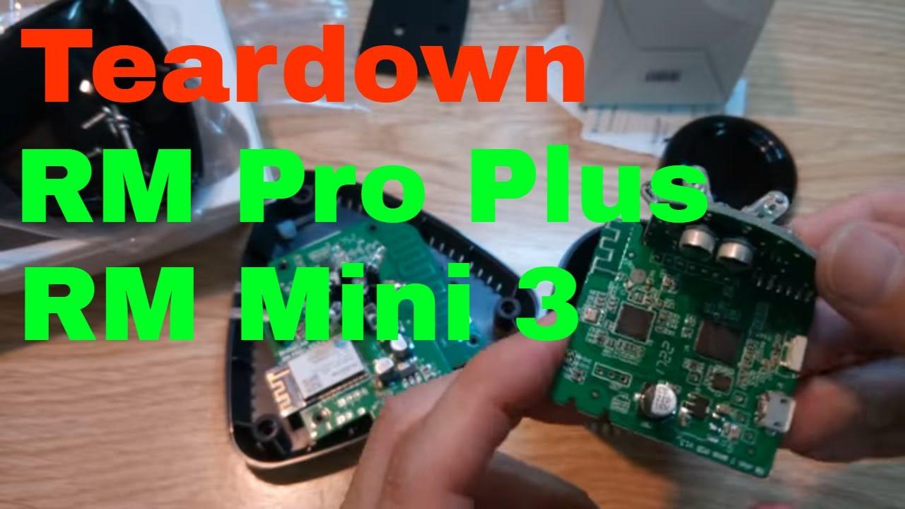 Broadlink RM Pro Plus vs RM Mini 3 - Smart Home teardown