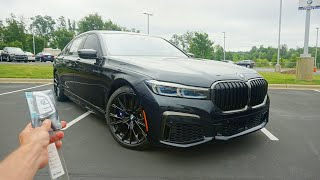 The 2020 BMW M760i Is An Ultra Luxurious V12 Super Sedan!!