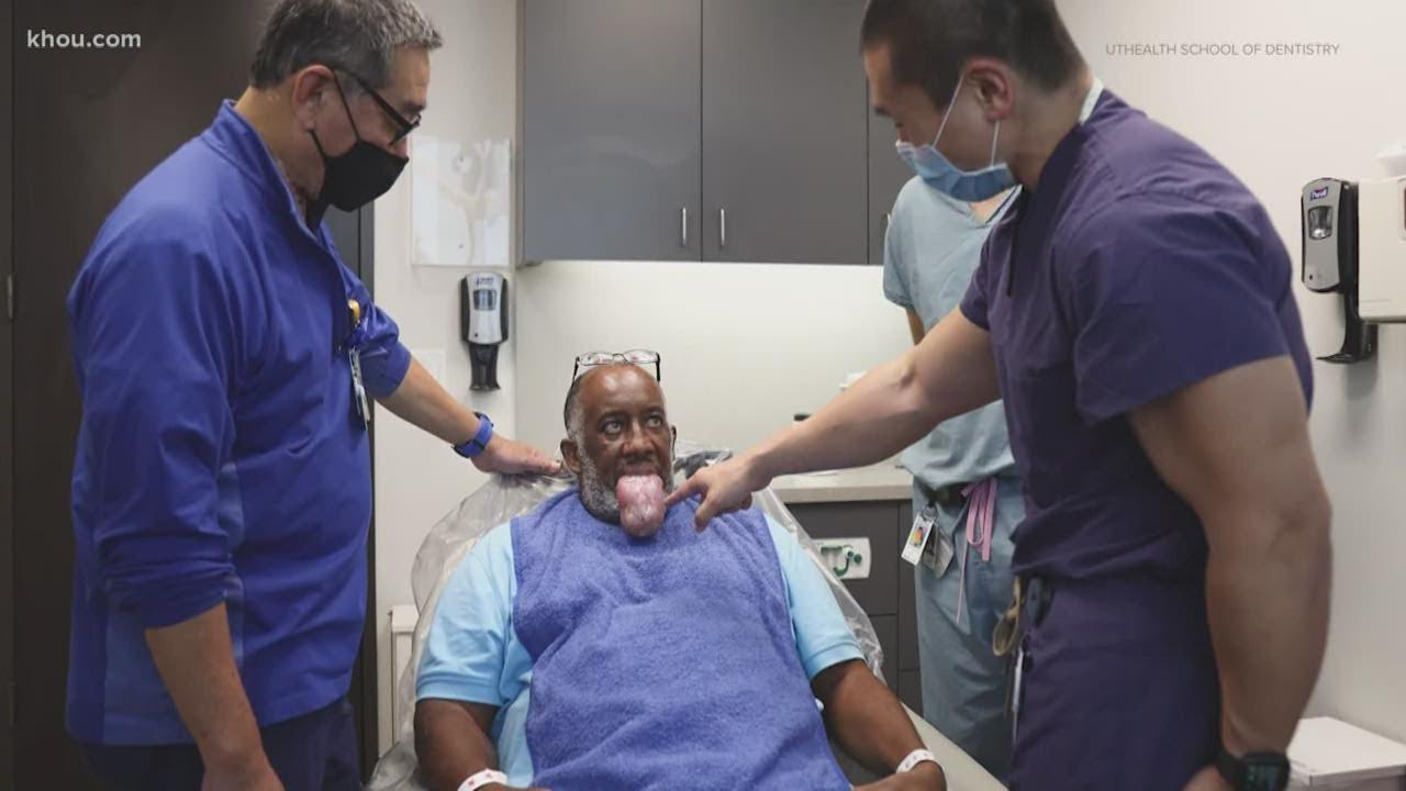 Download COVID-19 survivor has rare side effect of COVID-19 treatment -- a massively swollen tongue