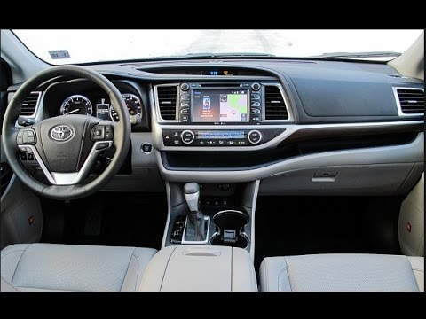 2016 toyota highlander interior youtube. Black Bedroom Furniture Sets. Home Design Ideas