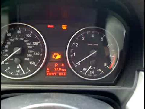 BMW 335i HPFP failure on freeway. - YouTube
