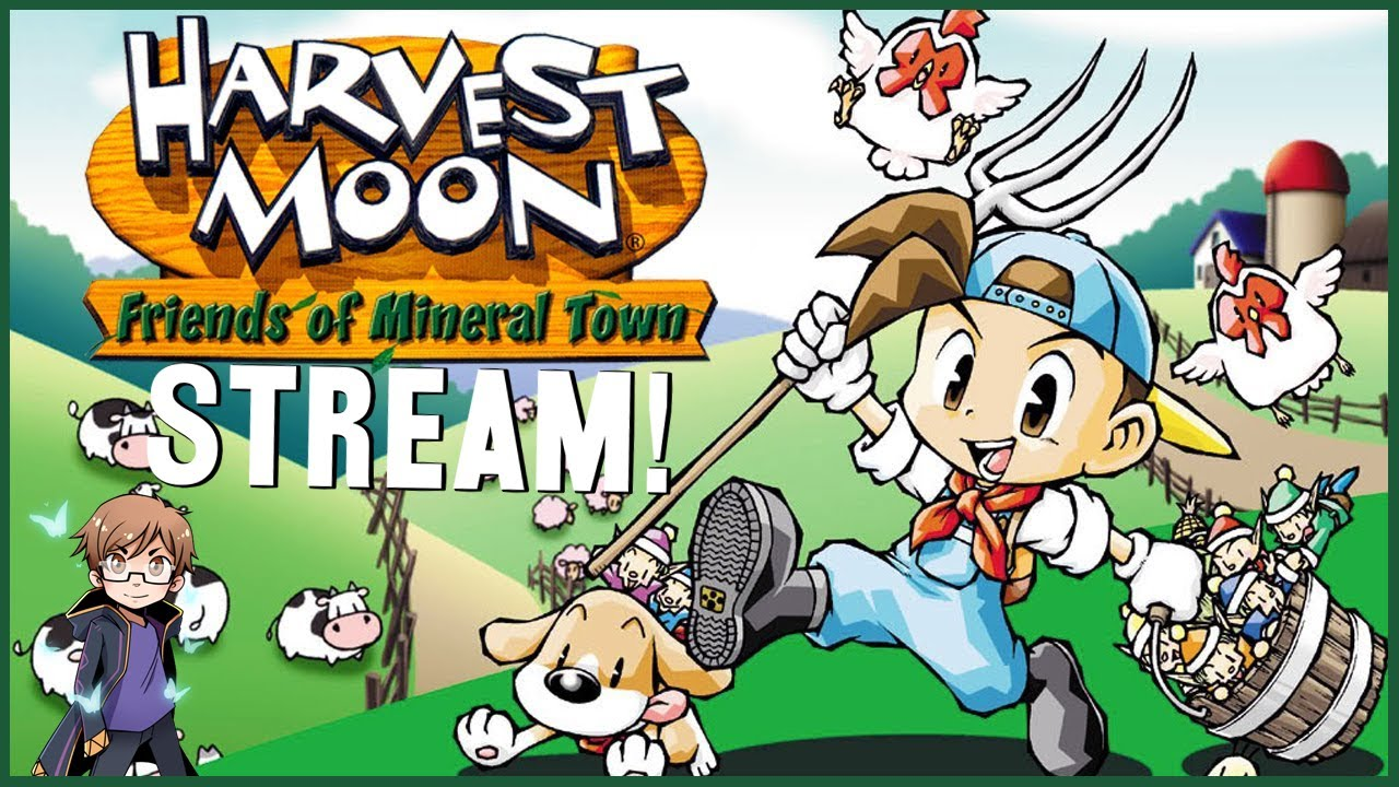 Harvest Moon Friends of Mineral Town - Time for some Nostalgia! | Stream