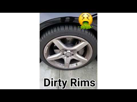 How To Clean Dirty Rims