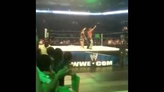 Triple H Breaks Out of Character for an AWESOME reason.