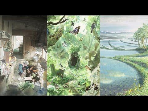 デジタルサイネージ:びわ湖の庭で