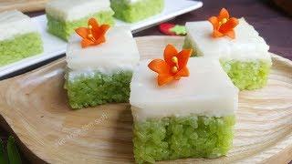 Cách nấu xôi lá dứa nước cốt dừa của người Thái chưa ai chia sẽ