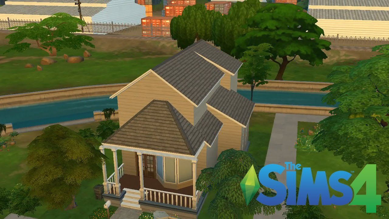 Sims 4 Adding A Second Floor Youtube