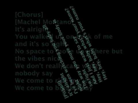 Machel Montano & Pitbull - alright with lyrics
