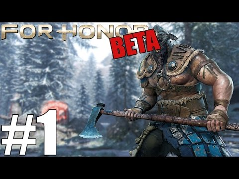 Amata Plays For Honor Closed Beta (PC Version) | For Valhalla
