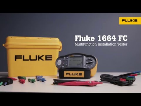 Fluke 1660 Series Installation Testers