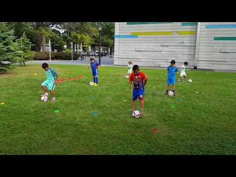 Soccer Session. U11 Ball Control