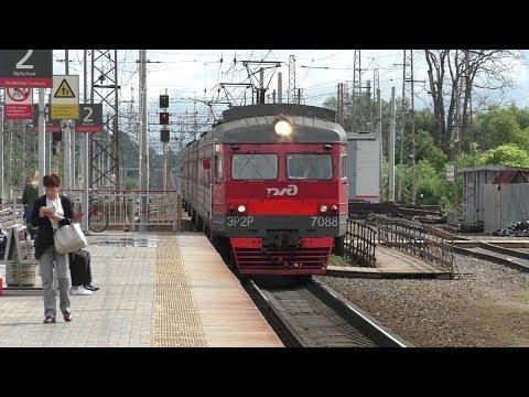 Электропоезд ЭР2Р-7088 станция Кубинка-1