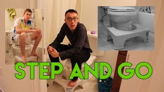 Trying The Step and Go - Toilet Posture Converter