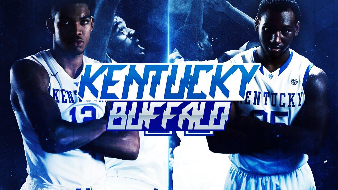 Kentucky Wildcats Men S Basketball: Kentucky Wildcats TV: Men's Basketball Vs Buffalo