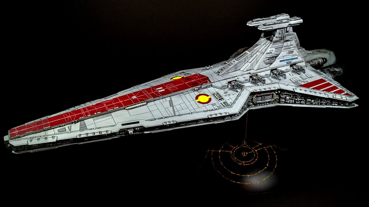 Building Revell's Star Wars Venator-class Republic Star ...