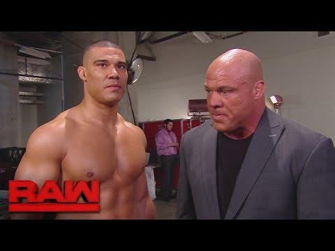 Kurt Angle sends Jason Jordan home: Raw, Feb. 5, 2018