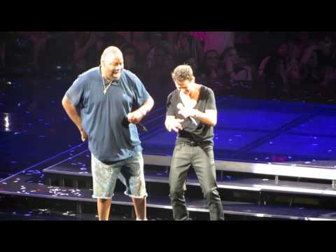 New Kids On The Block and Biz Markie - Just A Friend - Live at Madison Square Garden