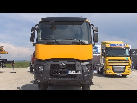 Renault Trucks K 460 Tipper Truck (2017) Exterior And Interior