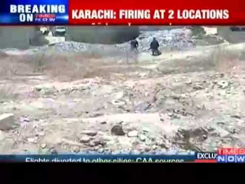 Karachi airport  attack: Heavy firing reported